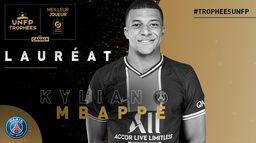 Kylian Mbappé - Meilleur joueur de Ligue 1 Uber Eats - Trophées UNFP 2021