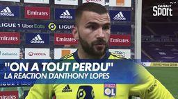 """Anthony Lopes après la 4ème place de l'OL : """"On a tout perdu"""" : Ligue 1 Uber Eats"""