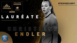 Christiane Endler meilleure gardienne de D1 Arkema : Trophées UNFP 2021