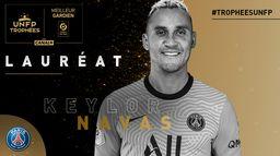 Keylor Navas, Meilleur gardien de Ligue 1 Uber Eats : Trophées UNFP 2021