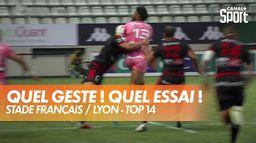 Incroyable essai du Stade Français ! : TOP 14