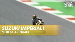 Tatsuki Suzuki écrase la concurrence et prend la pole