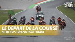 C'est le départ sur le circuit du Mugello : Grand Prix d'Italie