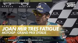 La réaction de Joan Mir : Grand Prix d'Italie