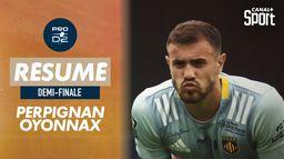 Le résumé de Perpignan / Oyonnax - Demi-finale PROD2 : Rugby