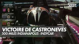 La victoire de Castroneves aux 500 Miles d'Indianapolis - IndyCar : IndyCar