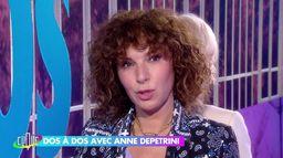 Anne Depétrini dos à dos avec Catherine Ceylac