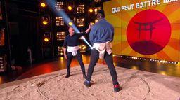 Pascal, le grand frère, affronte Makao de Secret Story dans un combat de sumo dans TPMP