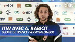 Entretien avec Adrien Rabiot (Version longue)