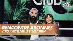 Isabelle Ithurburu et Sébastien Chabal répondent aux abonnés : Canal Rugby Club