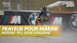Plus de peur que de mal pour Marini : Grand Prix de Catalogne