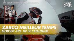 Zarco meilleur temps des essais libres 2 : Grand Prix de Catalogne