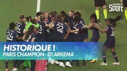 Le PSG remporte le premier titre de son histoire ! : D1 Arkema