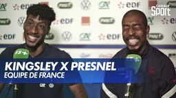 Entretien croisé : Kingsley Coman et Presnel Kimpembe : Canal Football Club