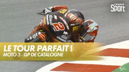Gabriel Rodrigo, la magnifique pole ! - GP de Catalogne Moto 3