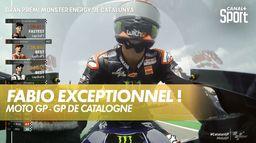 Fabio Quartararo encore impérial, Johann Zarco 3ème : Grand Prix de Catalogne