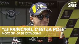"Fabio Quartararo : ""Je me suis pas senti super rapide"" : Grand Prix de Catalogne"