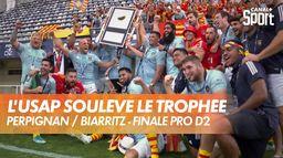 Perpignan soulève le trophée PRO D2 : Finale PRO D2