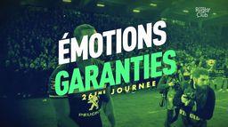 26ème journée de TOP 14 : Émotions Garanties : Canal Rugby Club
