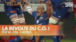 La furia Castraise fait prendre l'eau à Toulon : TOP 14