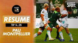 Le résumé de Pau / Montpellier : TOP 14