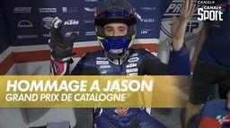 Hommage à Jason Dupasquier : Grand Prix de Catalogne