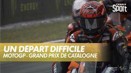 Départ difficile pour Quartararo : Grand Prix de Catalogne