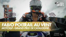 Incroyable Quartararo poitrail au vent ! : Grand Prix de Catalogne