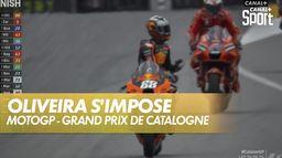 Oliveira s'impose devant Zarco : Grand Prix de Catalogne