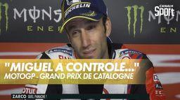 """Zarco : """"Miguel a très bien contrôlé toute la course"""""""