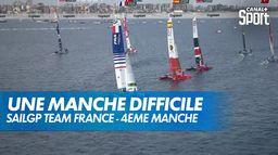 Une 4ème manche très difficile pour les français