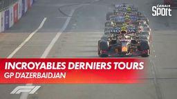 Les derniers tours incroyables du GP d'Azerbaïdjan !