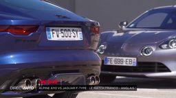 Zone Rouge : Alpine A 110 Vs Jaguar F-type !