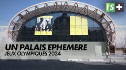 Le grand palais éphémère inauguré : Jeux Olympiques 2024