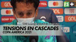 Tensions autour de l'organisation : Copa America 2021