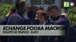 Le président chez les Bleus : Equipe de France Euro