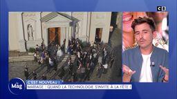 C'est nouveau ! : Mariage, quand la technologie s'invite à la fête !