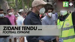 Zidane échange houleux avec un journaliste espagnol : Football Espagne