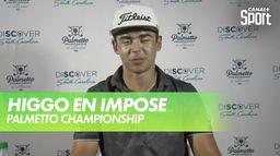 Higgo, comme un grand : PGA Tour - Palmetto championship