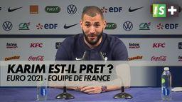 Karim Benzema, place au jeu : France - Allemagne