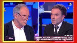 Le clash entre Yann Moix et Jean-Paul Hamon, médecin, sur la crise sanitaire