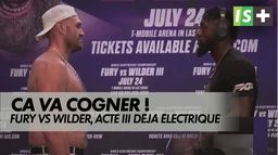 Fury Vs Wilder, un acte III déjà électrique : Championnat du monde poids lourds