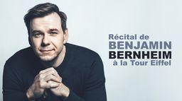 Récital de Benjamin Bernheim à la Tour Eiffel
