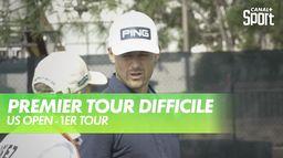 Un premier tour inachevé : US Open - 1ère journée