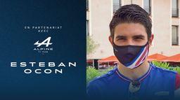 Esteban Ocon réagit à sa prolongation chez Alpine F1 Team. Grand Prix de France