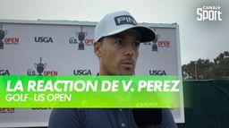 La réaction de Victor Perez après le 1er tour : US Open