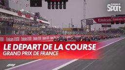 Le départ du Grand Prix de France : Formule 1