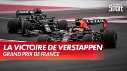 La victoire de Max Verstappen : Grand Prix de France
