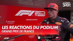 Les réactions au pied du podium : Grand Prix de France
