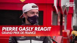 Pierre Gasly réagit après le Grand Prix : Grand Prix de France